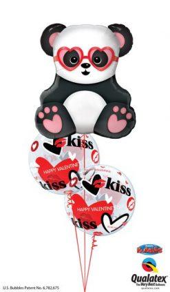 Bukiet 672 Valentine's Panda & Bubbles #54882 27539-2