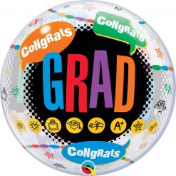 """22"""" / 56cm Happy Graduation - Congrats Grad Qualatex #55800"""
