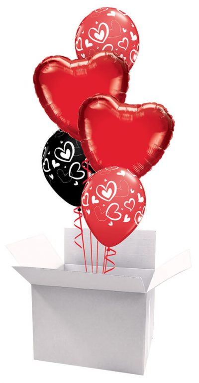 18″ / 46cm Poczta Balonowa Love Bukiet Premium#Bukiet Premium Love