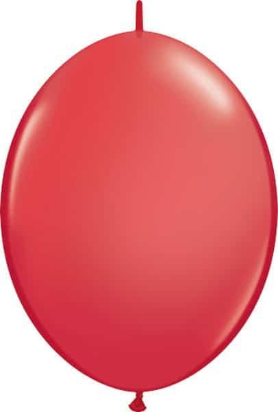 "12"" / 30cm Red Qualatex Quick Link #65213-1"