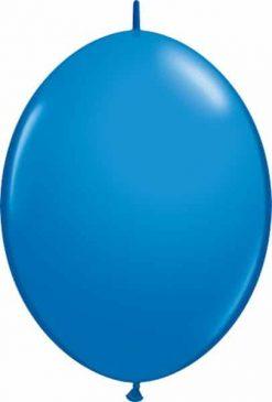 """12"""" / 30cm Dark Blue Qualatex Quick Link #65215-1"""
