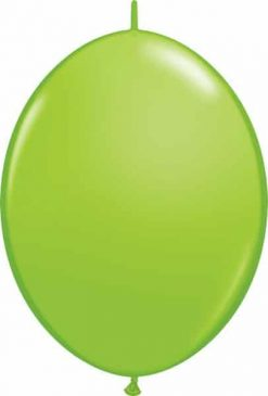 "12"" / 30cm Lime Green Qualatex Quick Link #65217-1"