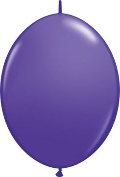 "12"" / 30cm Purple Violet Qualatex Quick Link #65230-1"