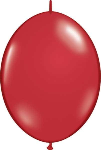 """12"""" / 30cm Ruby Red Qualatex Quick Link #65247-1"""