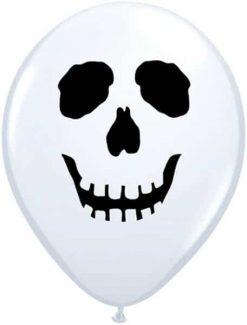 """5"""" / 13cm Skull Face Qualatex #96597-1"""