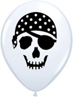 "5"" / 13cm Pirate Skull Qualatex #99779-1"