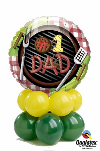 Bukiet 390 #1 Dad Grill Qualatex #41821 43567-8