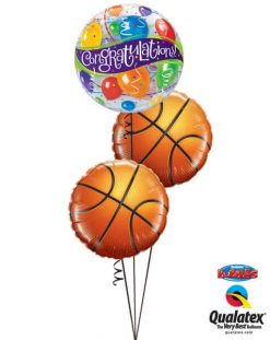 Bukiet 656 Congratulations! Basketballs #27564 21812-2
