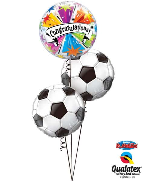 Bukiet 657 Congratulations! Soccer Balls #41190 71597-2