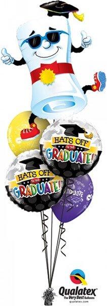 Bukiet 409 Mr. Diploma - Thumbs Up! Qualatex #11564 93214-2 17982-2