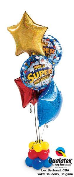 Bukiet 19 Have a Super Birthday ! #41623-2 41269 41273 41282