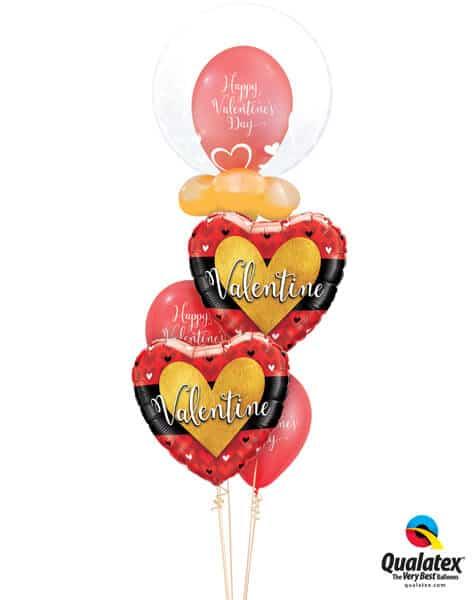 Bukiet 683 Heart of Gold Valentine #29505 46063-3 46076-2