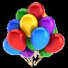 Bukiet 1 Balony z helem 10szt #10 Mix Kolory