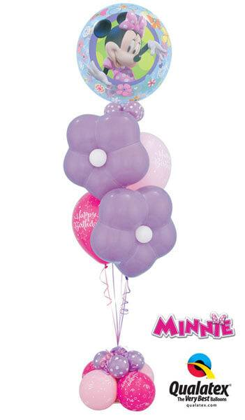 Bukiet 205 Disney Minnie Mouse Qualatex #41065 37807-2 25588-2