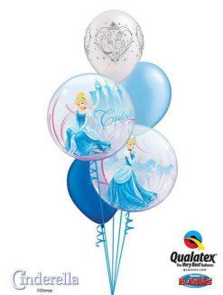 Bukiet 116 Disney Cinderella's Royal Debut Qualatex #41192-2 18705 39804 39815