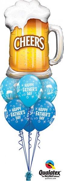 Bukiet 391 Cheers! Beer Mug Qualatex #23488 42691-6