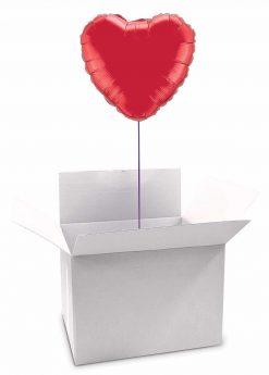 """18"""" / 46cm Poczta Balonowa Classic Serce z Balonem Foliowym"""