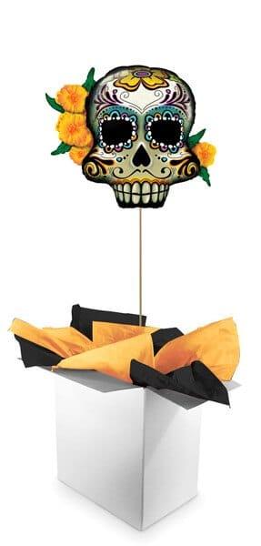 "38"" / 96cm Poczta Balonowa Halloween Premium z Balonem Foliowym #Foliowy Halloween Premium"