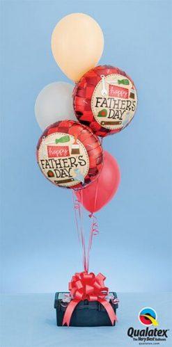 Bukiet 386 Father's Day Tools Qualatex #24206-2 17747-3