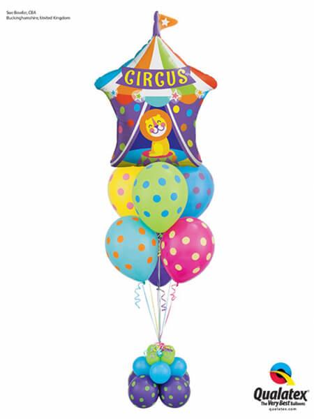 Bukiet 435 Big Top Circus Lion Qualatex #25239 10240-10 82683-4 48954-4