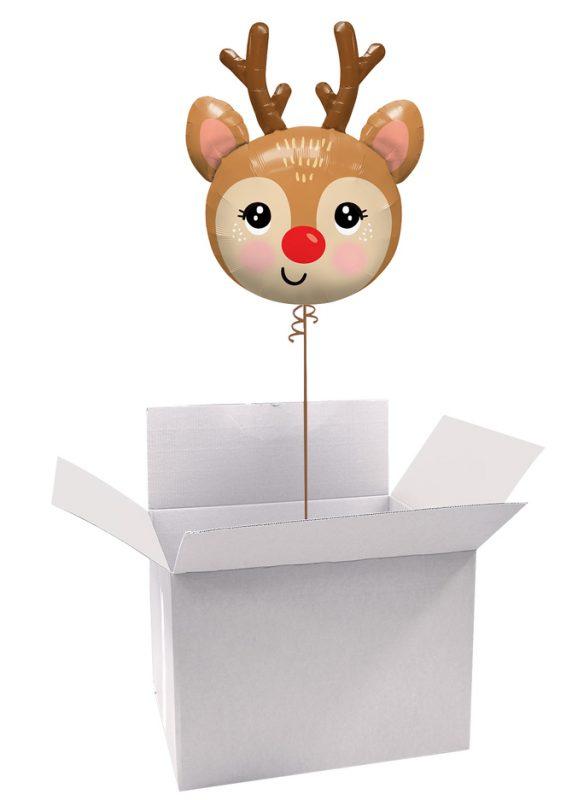 Poczta Balonowa Świąteczna Premium z Balonem Foliowym