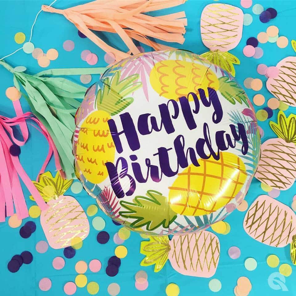 Balon foliowy na urodziny