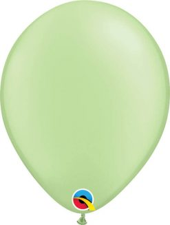 11 28cm Neon Green Qualatex #74572-1