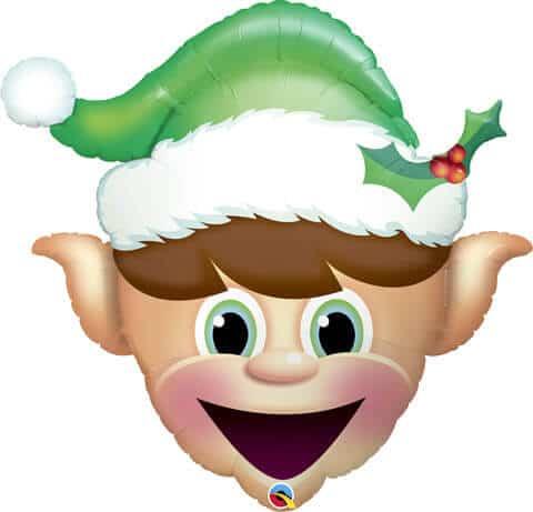 """35"""" / 89cm Christmas Elf Qualatex #52935"""