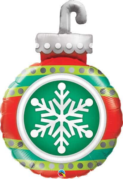 """35"""" / 89cm Snowflake Ornament Qualatex #52940"""