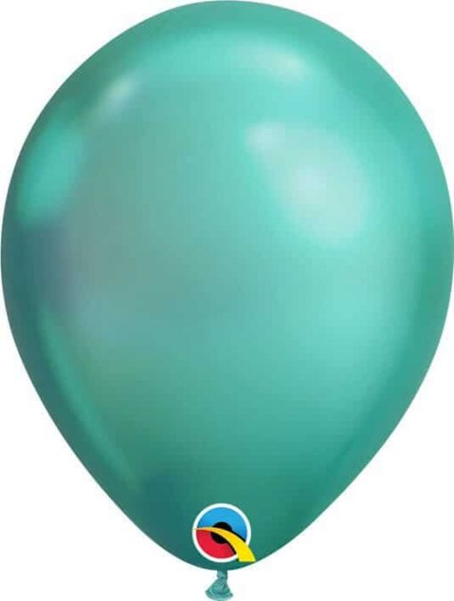 "11"" / 28cm Chrome® Green Qualatex #58273-1"