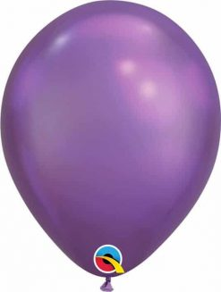 "11"" / 28cm Chrome® Purple Qualatex #58274-1"