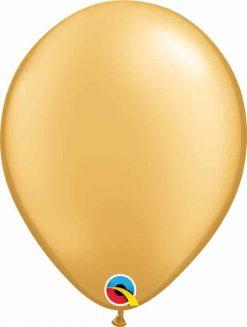 11 28cm Metallic Gold Qualatex #43749-1