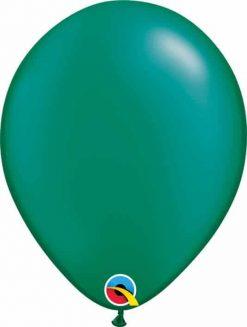 11 28cm Pearl Emerald Green Qualatex #43772-1