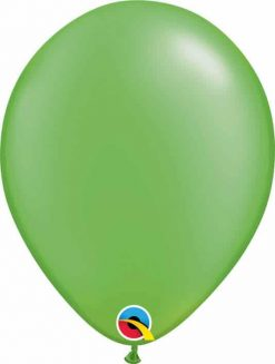 11 28cm Pearl Lime Green Qualatex #49957-1