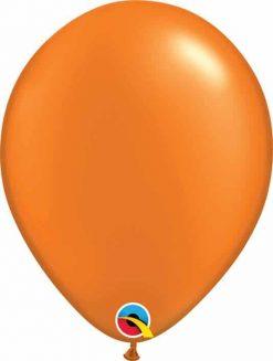 11 28cm Pearl Mandarin Orange Qualatex #48959