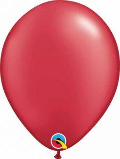 11 28cm Pearl Ruby Red Qualatex #43785
