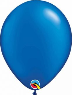 11 28cm Pearl Sapphire Blue Qualatex #43786