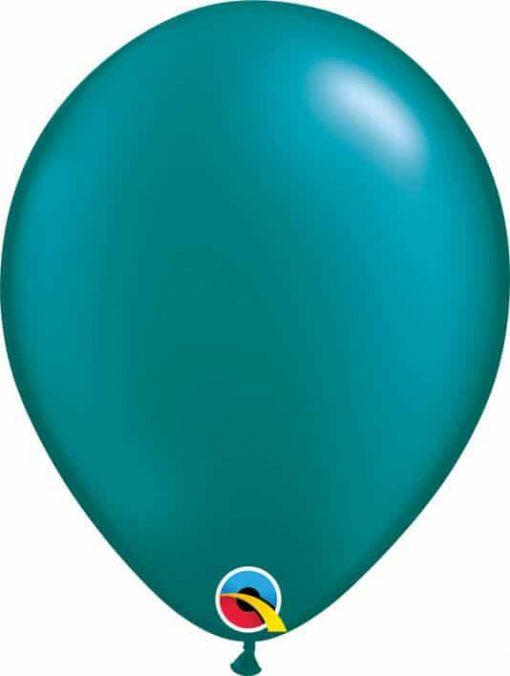 11 28cm Pearl Teal Qualatex #43787-1