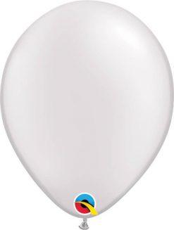 11 28cm Pearl White Qualatex #43788-1