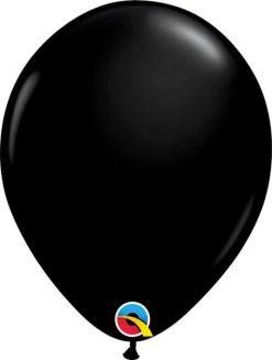 """11"""" / 28cm Fashion Onyx Black Qualatex #43737-1"""