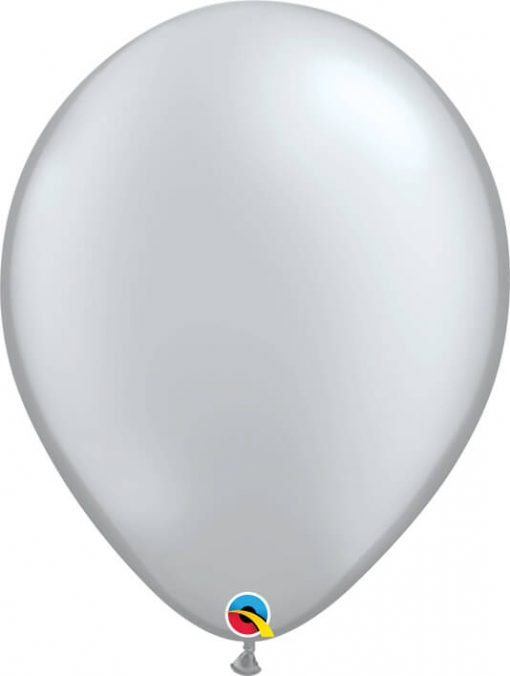 16 41cm Metallic Silver Qualatex #43901-1