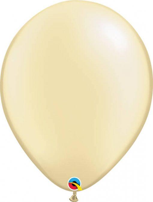 16 41cm Pearl Ivory Qualatex #87577-1