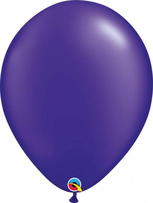 16 41cm Pearl Quartz Purple Qualatex #87177-1