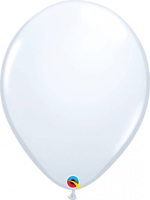 16 41cm Standard White Qualatex #43904-1