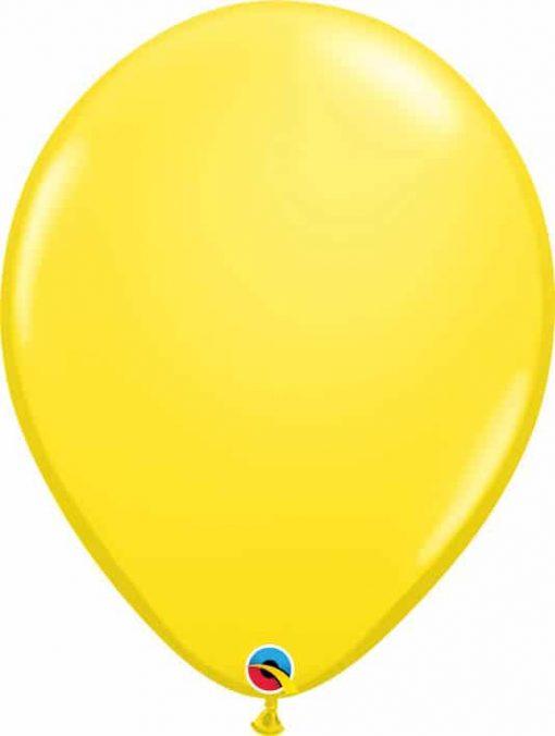 16 41cm Standard Yellow Qualatex #43906-1