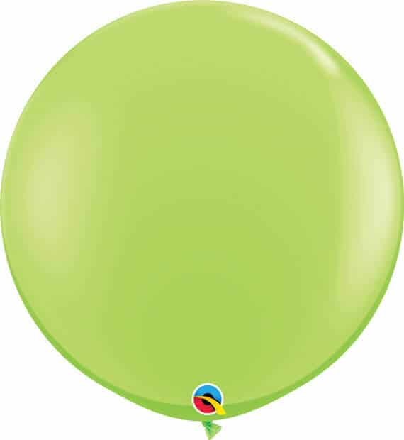 3' 91cm Fashion Lime Green Qualatex #43660-1