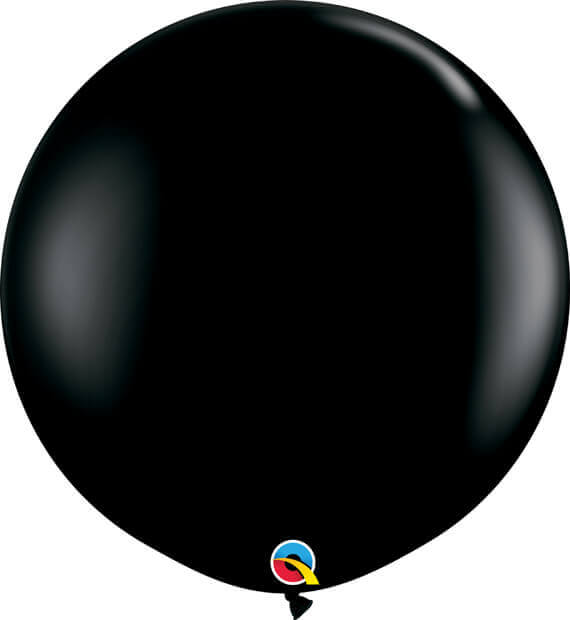 3' 91cm Fashion Onyx Black Qualatex #42857-1