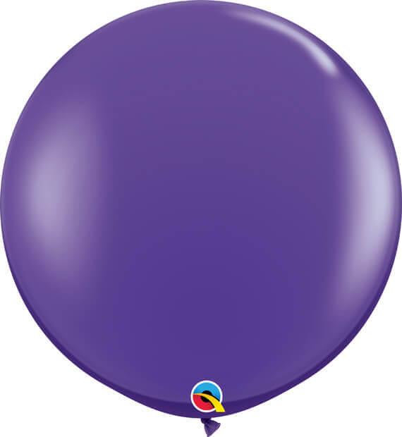 3' 91cm Fashion Purple Violet Qualatex #82785-1