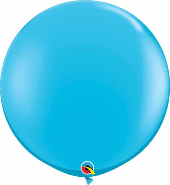 3' 91cm Fashion Robins Egg Blue Qualatex #82784-1