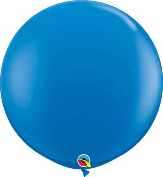 3' 91cm Standard Dark Blue Qualatex #41996-1